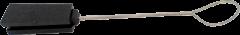 Зажим для диэлектрического кабеля (круглого, плоского)